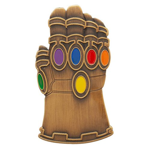 Avengers: Endgame Gauntlet Lapel Pin