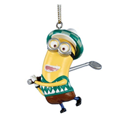 Despicable Me Golfer Dave Figural Resin Ornament