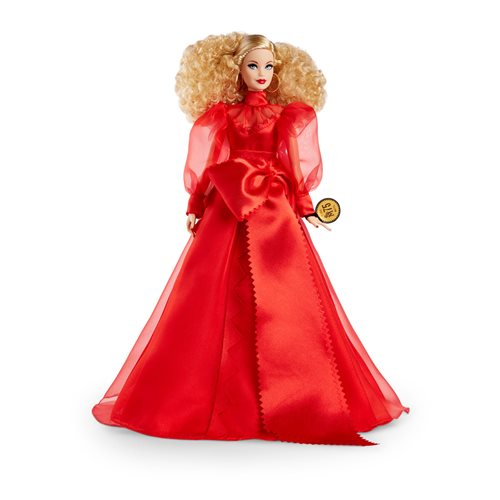 Barbie Collector Mattel 75th Anniversary Doll Blonde Hair