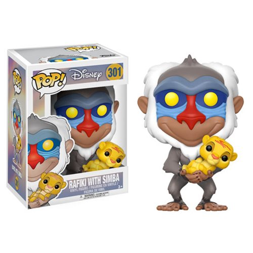 The Lion King Rafiki with Baby Simba Pop! Vinyl Figure
