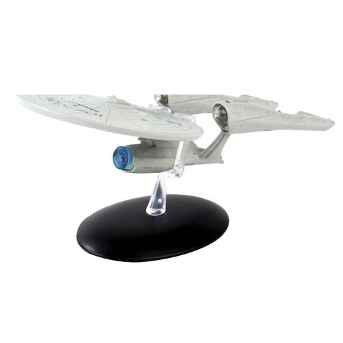 Star Trek Starships USS Enterprise NCC-1701 2009 Movie Vehicle with Collector Magazine