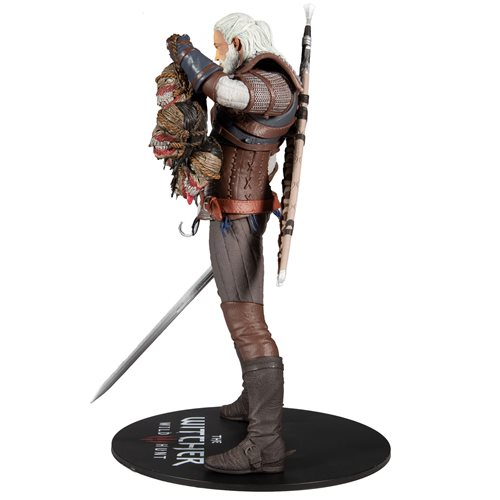 The Witcher 3: The Wild Hunt Geralt of Rivia 12-Inch Action Figure
