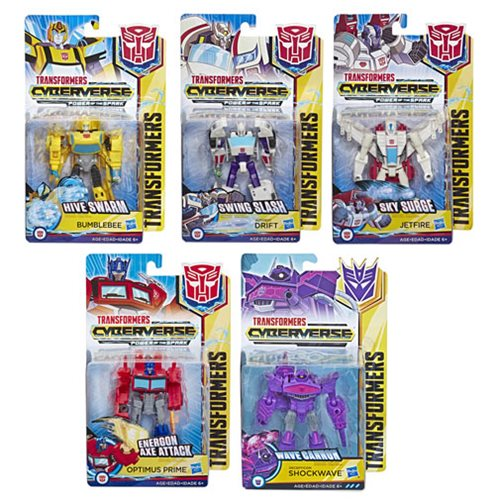 Transformers Cyberverse Warrior Wave 5 Case