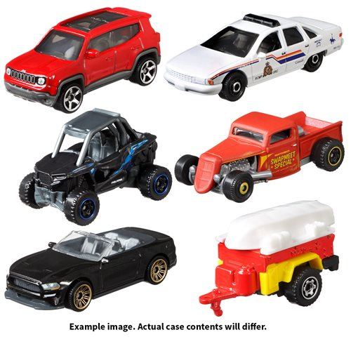Matchbox Car Collection 2021 Wave 2 Vehicles Case