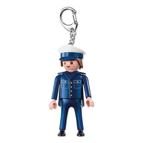 Playmobil 6615 Policeman Action Figure Key Chain