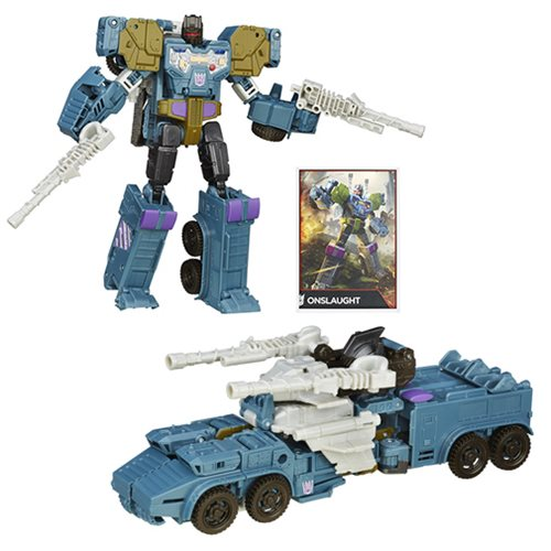 Transformers Generations Onslaught Figure, Not Mint