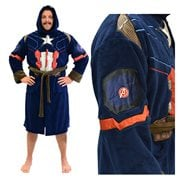 Marvel Captain America Civil War Hooded Fleece Bathrobe