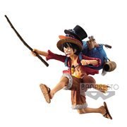 One Piece Monkey D. Luffy Running Statue