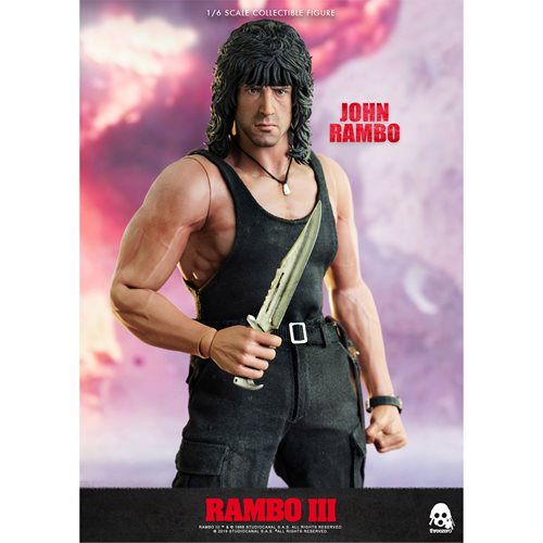 Rambo III John Rambo 1:6 Scale Action Figure