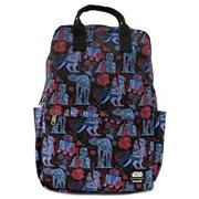 Star Wars Empire Strikes Back 40th Anniversary Print Nylon Backpack