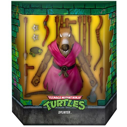 Teenage Mutant Ninja Turtles Ultimates Splinter 7-Inch Action Figure Version 2