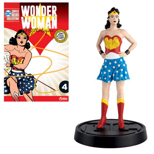 Wonder Woman Mythologies Statue with Collector Magazine #4