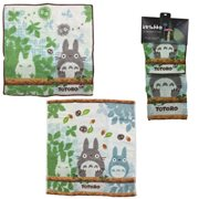 My Neighbor Totoro Totoro Taking a Break 2-Pack Mini and Wash Towel Set
