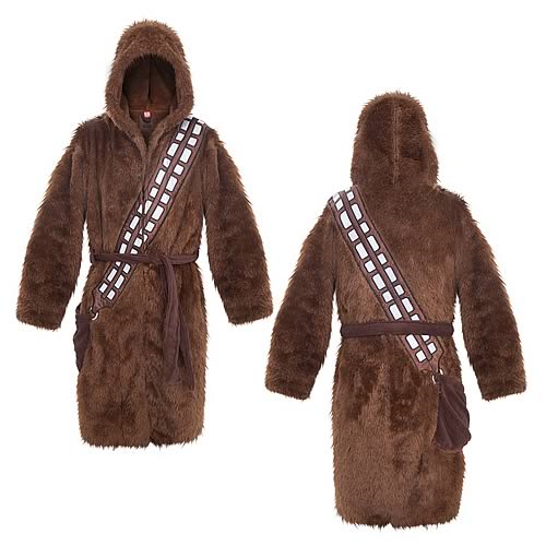 Star Wars Chewbacca Brown Fleece Bathrobe