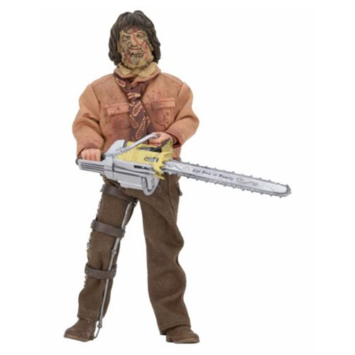 Texas Chainsaw Massacre III Leatherface 8-Inch Retro Action Figure