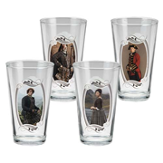 Outlander 16 oz. Glass 4-Pack