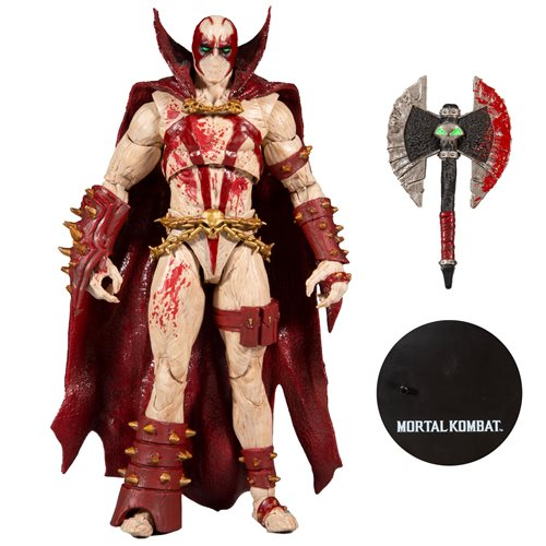 Mortal Kombat Series 4 Bloody Spawn 7-Inch Action Figure