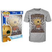 Rocketeer Hero Gray Pop! T-Shirt