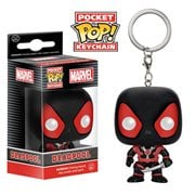 Deadpool Black Suit Pocket Pop! Vinyl Figure Key Chain