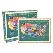 United Stamps of America 1,000-Piece Puzzle