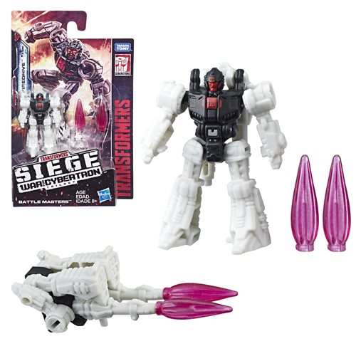 Transformers Generations War for Cybertron Siege Battle Master Firedrive