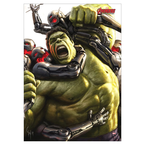 Avengers: Age of Ultron Hulk MightyPrint Wall Art Print