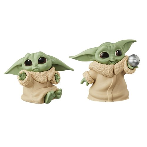 Star Wars The Mandalorian Baby Bounties Hold Me and Ball Mini-Figures