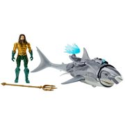 Aquaman Movie 6-Inch Aquaman with Warrior Shark Action Figure