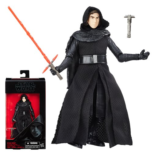 Star Wars The Black Series Kylo Ren Unmasked 6-Inch Action Figure