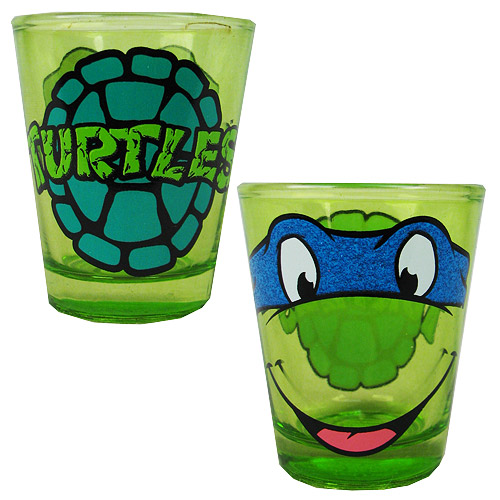 Teenage Mutant Ninja Turtles Leonardo Glitter Shot Glass