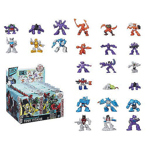 Transformers Robots in Disguise Tiny Titans Wave 4 Case