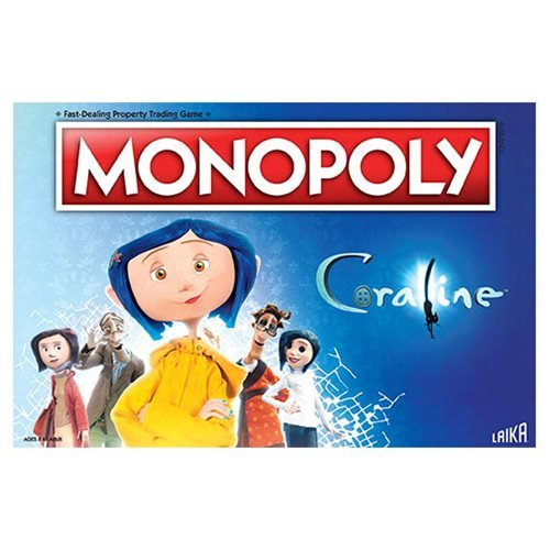 Coraline Monopoly Game