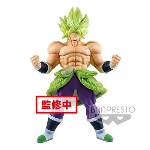 Dragon Ball Super Movie Chokoku Buyuden Super Saiyan Broly Full Power Statue