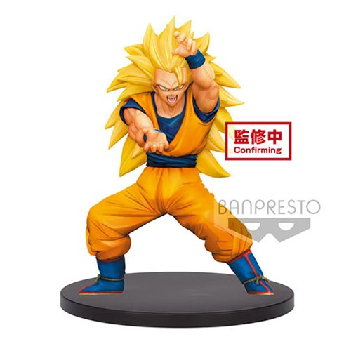 Dragon Ball Super Super Saiyan 3 Son Goku Chosenshi Retsuden Vol.4 Statue