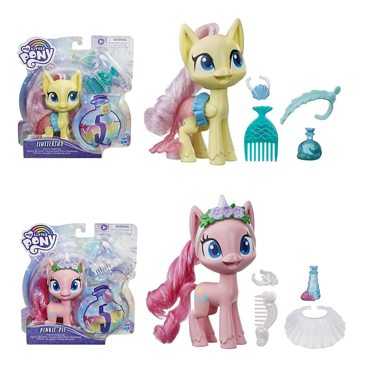 - My Little Pony Potion Dress Up Mini-Figures Wave 1 Set