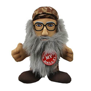 Duck Dynasty Si Robertson 8-Inch Talking Plush