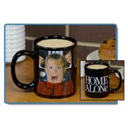 Home Alone Black Mug