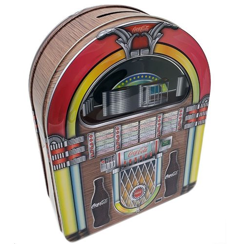 Coca-Cola Replica Jukebox Tin Bank