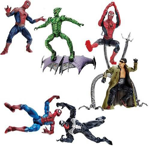 Spider-Man Origins Battle Pack Figures Wave 1 Set
