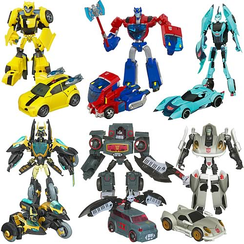 Transformers Animated Deluxe Action Figures Wave 7