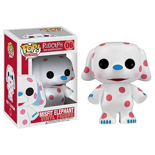 Rudolph Red-Nosed Reindeer Misfit Elephant Pop! Vinyl Figure