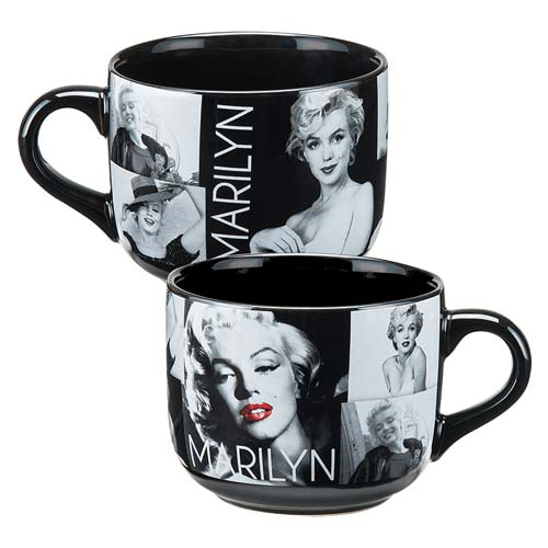 Marilyn Monroe 20 oz. Ceramic Soup Mug