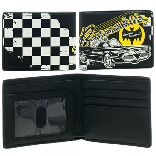 Batman 1966 TV Series Batmobile Wallet