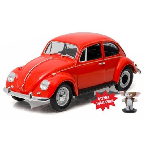 Gremlins 1967 Volkswagon Beetle with Gizmo Figure 1:18 Scale Die-Cast Metal Vehicle