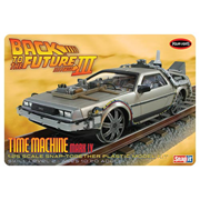 Back to the Future III Final Act Time Machine Snap-Fit Model Kit