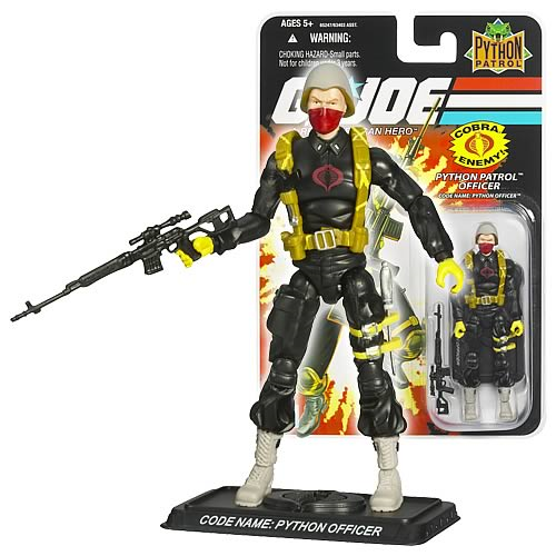 G.I. Joe 25th Anniversary Python Officer Action Figure