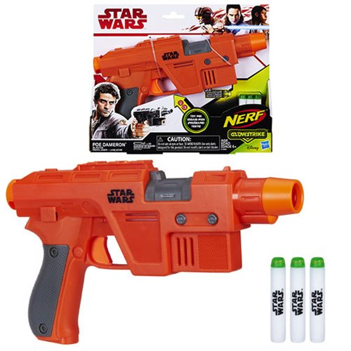 Star Wars: The Last Jedi Nerf Poe Dameron Nerf GlowStrike Blaster