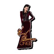 Once Upon a Time Evil Queen Funky Chunky Magnet
