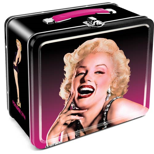 Marilyn Monroe Large Fun Box Tin Tote