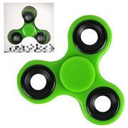 Fidget Spinner Green 3-Leaf Basic Hand Spinner